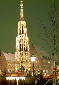 Christkindlesmarkt, Nuremberg,Germany