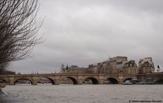 River Seine in Paris, France.