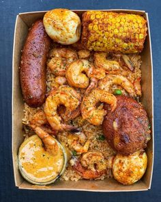 [New] The 10 Best Recipes Today (with Pictures) Food To Go, I Love Food, Seafood Boil Recipes, Cajun Seafood Boil, Food Porn, Boiled Food, Cooking Recipes, Healthy Recipes, Sweets