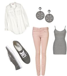"""casual school outfit"" by sarahgpowell on Polyvore, I am needing and wanting this entire outfit!"