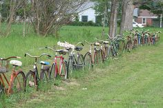 Old bike fence...lol