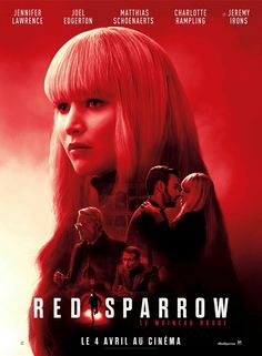 Red Sparrow Fantastic Movie posters #movieposters #SciFi movie posters #Horror movie posters #Action movie posters #Drama movie posters #Fantasy movie posters #Animation movie Posters