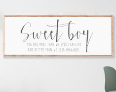 Nursery Sign Boy Room Decor Little Boys Should Never Be Rustic Nursery Decor, Nursery Decor Boy, Nursery Signs, Boys Room Decor, Boy Wall Decor, Nursery Neutral, Woodland Nursery, Rustic Decor, Baby Boy Rooms