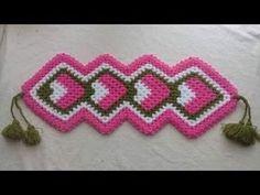 Uzun lif yapımım uzun lif yapımı  çeyizlik lif nasıl yapılır   حرف يدوية - YouTube