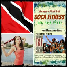 Soca Fitness - the caribbean workout in Stockholm. Every sunday Sveavägen 128, 4-5:00 p.m.