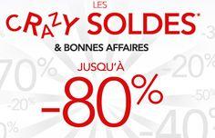 """""""Soldes Rue du commerce : Jusqu' à 80 % de remise sur la maison / déco sur Rue du commerce."""""""