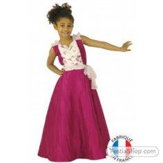 Déguisement robe de bal luxe fille