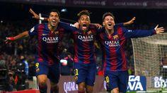 Three amigos #Messi #Neymar #Suarez #FCBarcelona