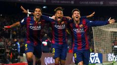 Three amigos #Messi #Neymar #Suarez #FCBarcelona