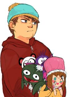 PREO*PRIX - Full versions of all those little drawings. South Park Anime, South Park Fanart, South Park Cartman, Trey Parker, Goth Kids, Stan Marsh, Eric Cartman, Famous Pictures, Stuff And Thangs