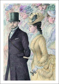Illustration by Angela Barrett. Anna Karenina