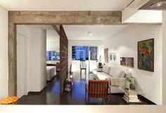 A Brazilian Apartment with Historic, Modernist Details - Design Milk