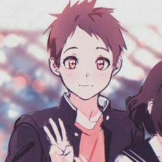 Chica Anime Manga, Otaku Anime, Anime Art, Dark Anime Guys, Matching Profile Pictures, Anime Couples Drawings, Cartoon Boy, Hyouka, Anime Films