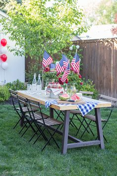 Patriotic Balloon Flag for of July or Memorial Day Fourth Of July Decor, 4th Of July Celebration, 4th Of July Decorations, 4th Of July Party, July 4th, Birthday Decorations, Patriotic Crafts, Patriotic Party, July Crafts