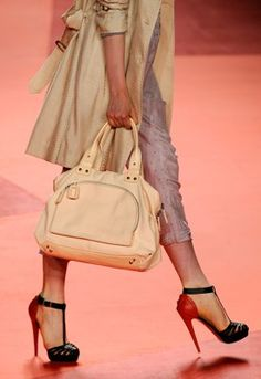 These 3.1 Phillip Lim heels may look sensible compared to some heels these days, but they look to be pushing 7 inches.