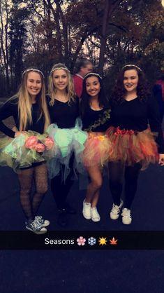 Season Halloween Costume. Teen Halloween costumes. Group Halloween costume. Girl costume ideas