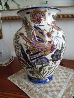 zsolnay 1885 Vase, Home Decor, Homemade Home Decor, Interior Design, Jars, Home Interiors, Vases, Decoration Home, Flowers Vase