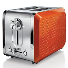 BELLA Dots Collection 2-Slice Toaster Orange $26.95 LOWEST PRICE GUARANTEE...PICK UP OR WE WILL SHIP FREE WORLDWIDE... 100% MONEY BACK SATISFACTION GUARANTEE www.shopculinart.com
