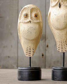 "13"" Moon Owl Short by Jac Johnson"