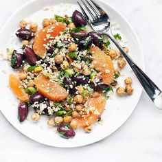 Millet Salad With Citrus And Olives via @feedfeed on https://thefeedfeed.com/lastingredient/millet-salad-with-citrus-and-olives