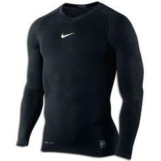 471f52ba22 Nike Pro Combat Hypercool Compression Seamless Long Sleeve T-Shirt Nike Pro  Combat
