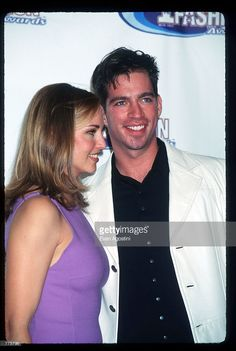 Jill Goodacre and Harry Connick Jr. attend the VH-1 Fashion Awards ceremony October 24, 1996 in New York City. VH-1 recognized the latest trends to emerge from the fusion of entertainment and fashion by granting several awards including Best Avant-garde Designer, Best Personal Style, Most Stylish Music Video and Most Fashionable Artist.