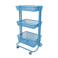 Shop for Luxor Kitchen Utility Cart in Blue. Get free shipping at Overstock.com - Your Online Kitchen