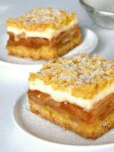 Polish Desserts, Polish Recipes, No Bake Desserts, Polish Food, Cupcake Recipes, Dessert Recipes, Bon Dessert, Different Cakes, Food Cakes