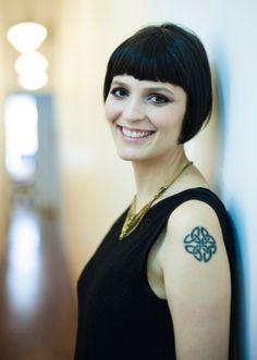 Vanessa Rozan, incredible professional makeup.