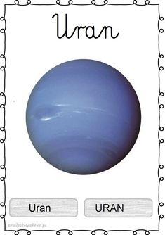 UKŁAD SŁONECZNY – plansze zestaw 1 – Przedszkolankowo Sistema Solar, Learn Polish, Kids Homework, Solar System, Kids Learning, Montessori, Kindergarten, Homeschool, Classroom