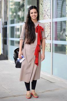 Karishma Shahani Khan Lakeme Fashion Week Street Style Elle India. via @elleindia