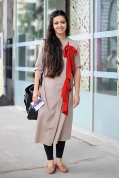 Karishma Shahani Khan Lakeme Fashion Week Street Style Elle India. via @elleindia