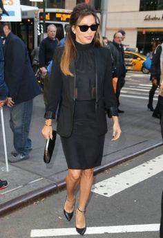 Eva Longoria wearing Cartier Love bracelet Eva Longoria New York City October 24 2013