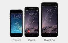 Yeni iPhone 6 və iPhone 6 Plus artıq keçmiş model iPhone 5S-lə müqaisədə!