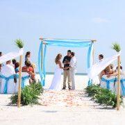 ocean waves beach wedding package for Megan and Mike
