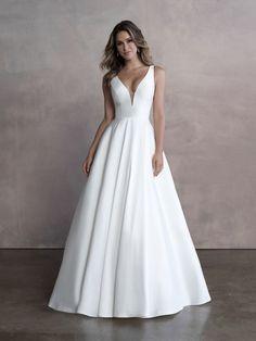 Style: 9813   Allure Bridals Vows Bridal, Bridal Salon, Modest Dresses, Bridal Dresses, Bridesmaid Dresses, Gown Gallery, Designer Wedding Gowns, Communion Dresses, Celebrity Dresses
