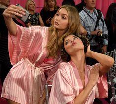 Victoria's Secret Fashion Show 2015-2016 Backstage #VSFashionShow #backstage