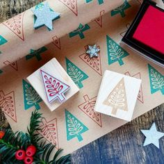Are you interested in our Nordic Christmas Tree Pattern Stamp? With our Scandi Gift Wrap and Tag you need look no further. Scandi Christmas, Christmas Tree Design, Christmas Themes, Christmas Crafts, Christmas Decorations, Christmas Candles, Modern Christmas, Tree Decorations, Christmas Holidays