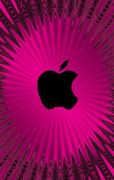 Ipad Mini Wallpaper, Apple Logo Wallpaper Iphone, Mobile Wallpaper, Phone Backgrounds, Wallpaper Backgrounds, Iphone Wallpapers, Apple Background, Apple Decorations, Pink Apple
