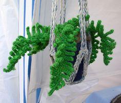 Crochet fern