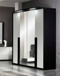 Image result for black and white wardrobes