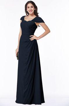 Modest Sweetheart Short Sleeve Floor Length Pleated Plus Size Bridesmaid Dresses