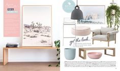 """Aimee Tarulli on Instagram: """"A few of my favourite things gracing my """"get the look"""" page in the latest issue of @adoremagazine available to read online now. Including two of my favourite art pieces I have in my own home """"Pink Desert"""" on the left from @theartworkstylist styled by me and  @redrabbitphotography and """"Golden"""" by @brookeholm  #interiors #interiorinspo #interiorstyling #styling"""" Latest Issue, Deco Design, Own Home, Get The Look, Reading Online, Interior Styling, Art Pieces, Interiors, My Favorite Things"""