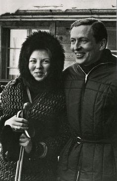 archive : Béatrix et Claus à Gstaadt