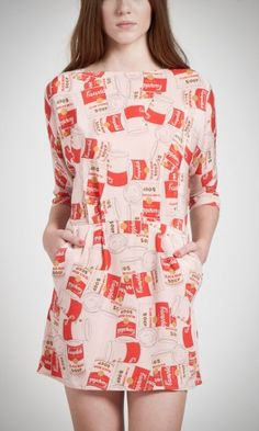 Andy Warhol dress by Pepe Jeans