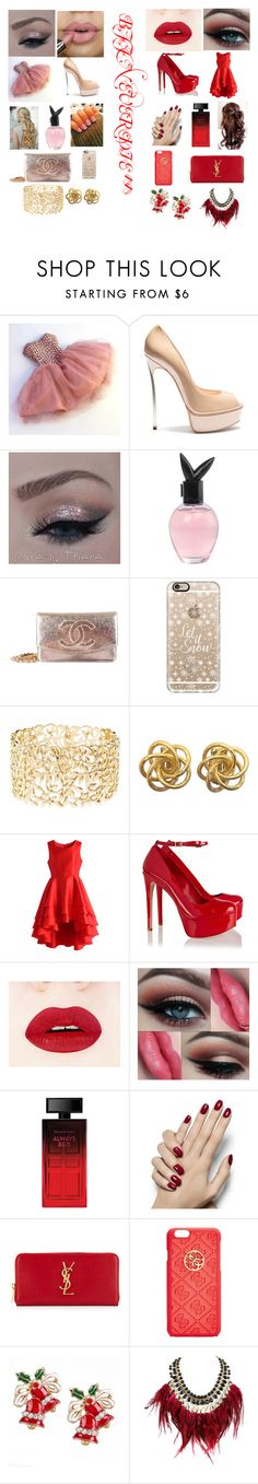 """""""So true"""" by egle-murr ❤ liked on Polyvore featuring beauty, Romantic Flavor, Casadei, Playboy, Chanel, Casetify, Charlotte Russe, Chicwish, Schutz and Elizabeth Arden"""