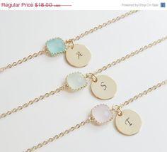 LUCKY SALE Personalized Bracelets  von SweetheartJewelryBox auf Etsy