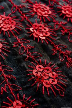 Red on Black by Jamal Benamer on Flickr.
