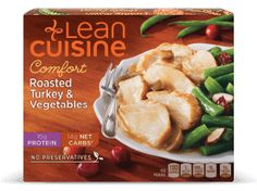 Shop Target for frozen meals including frozen entrees and frozen dinners. Quick and nutritious meals from the freezer. Ww Recipes, Real Food Recipes, 250 Calorie Meals, Green Beans With Cranberries, Turkey Tenderloin, Lean Cuisine, Vegetable Protein, Microwave Recipes, Frozen Meals
