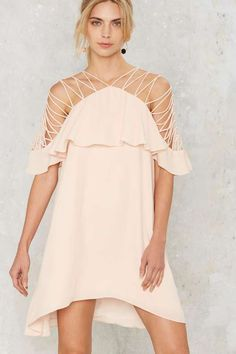 Stringing Your Praises Ruffle Dress - Going Out